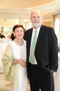 luncheon 2019 Glenn Robinson and Rita Matthews